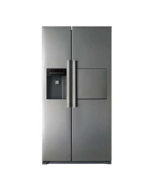 Daewoo Refrigerator 538L SIDE BY SIDE DOOR, PERFECT NO FROST[FRS-X22F4AS B]