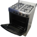 Nasco Gas Cooker with Oven & Grill Silver [LME61010]