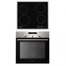 SAMSUNG 4 BURNER OVEN & ELECTRIC COOK TOP [PKG007]