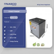 Nasco 100LTRS Chest Freezer [NAS-110]